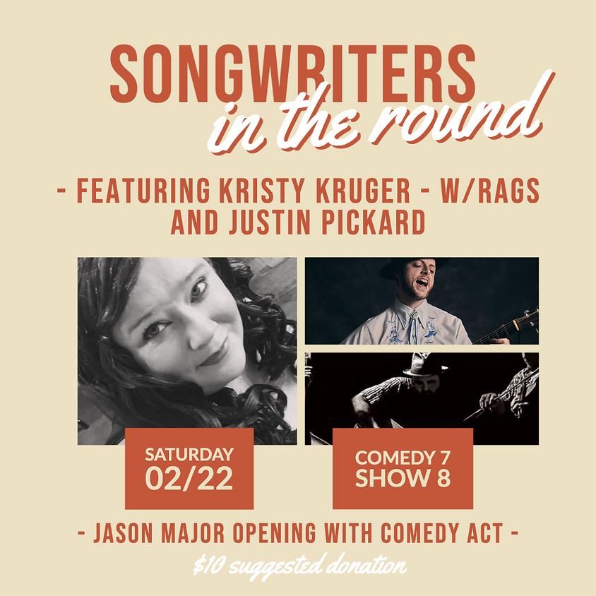 Kristy Kruger, Rags (Honey Folk) & Justin Pickard