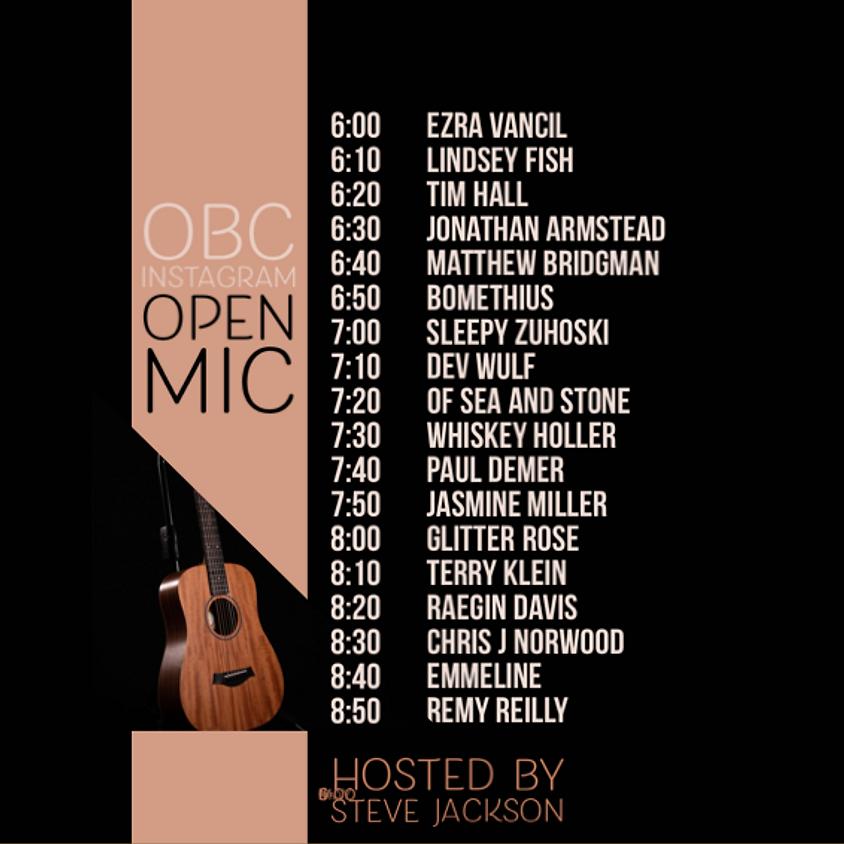 IG Live Open Mic