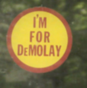 I'm for demolay, wv