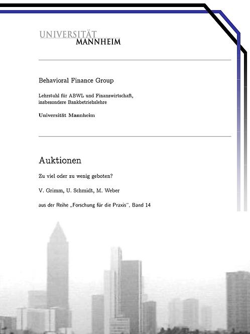 Behavioral Finance Band 14