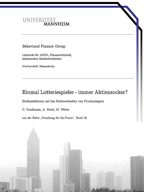 Behavioral Finance Band 18