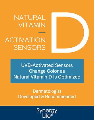 Natural Vitamin D Activation Sensors - Six Month Supply
