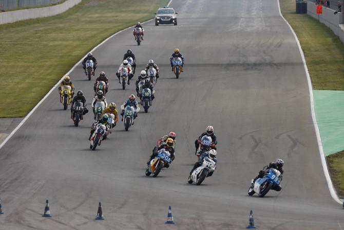 ICGP inicia uma temporada de corridas em pistas históricas da motovelocidade
