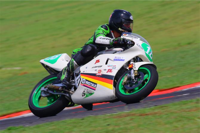 ICGP Brasil: Tennstädt é o primeiro recordista das motos clássicas em Goiânia