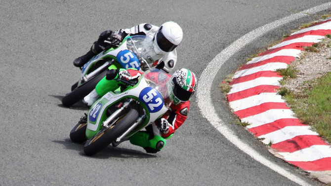 Italiano Claudio Cipriani é o pole position em Mugello