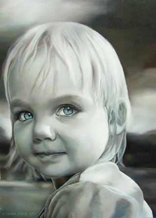 BLUE EYED GIRL / LA FILLE AUX YEUX BLEUS