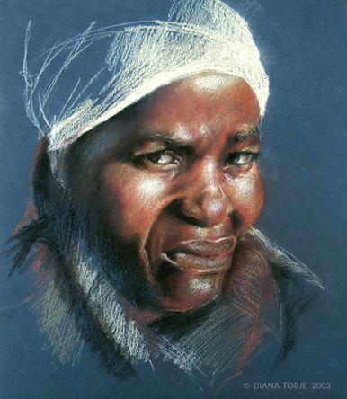 WOMAN FROM ETHIOPIA / FEMME D'ETHIOPIE