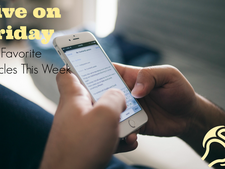 Five on Friday: Health Articles I Recommend