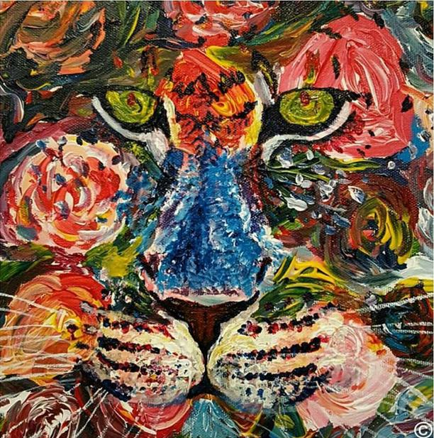 Cheetah Rose