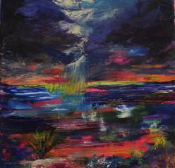 Raining Technicolor Anemone