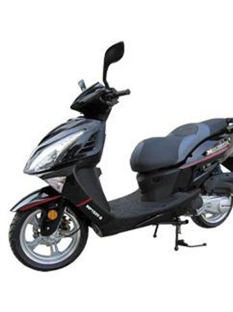 Motocicleta Scooter 150 CC tipo lujo