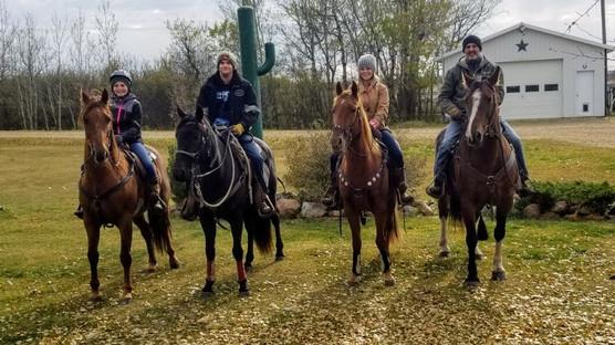 Thanksgiving Family Trail Ride