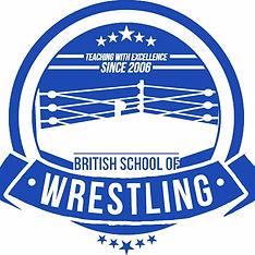 British School of Wrestling logo