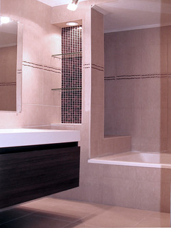Master bathroom renovated
