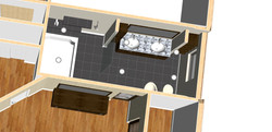 3D rendered view