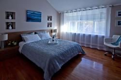 Master bedroom redesigned & staged