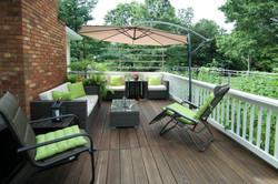 Re-mediated deck railings