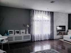 Remodeled master bedroom suite