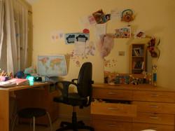 Girl's room before