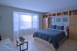 Master bedroom - staged