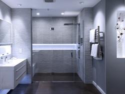 Master bathroom - remodeled