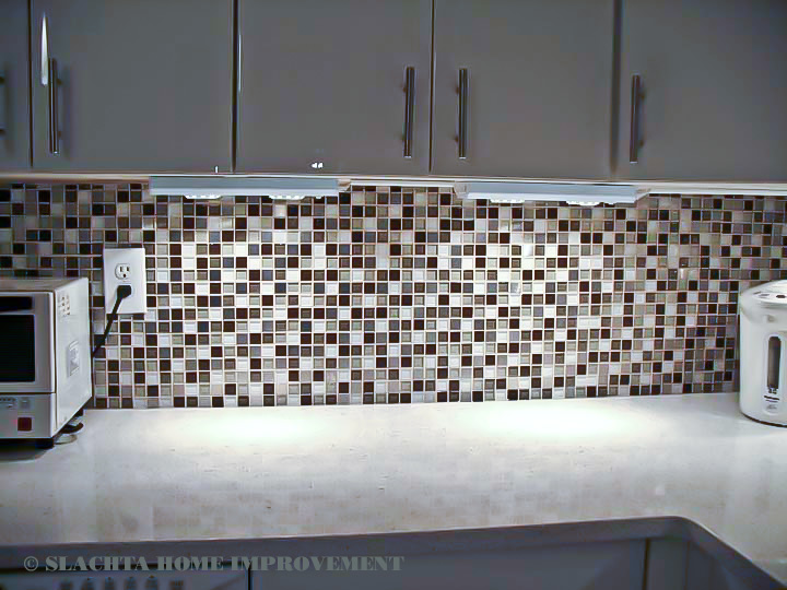Backslash - mosaic tiles