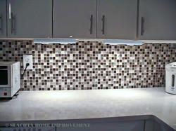 Backslash - mosaic tiles