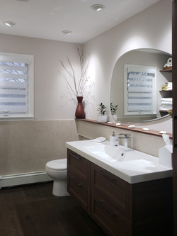 Hallway Bathroom porcelain tiles