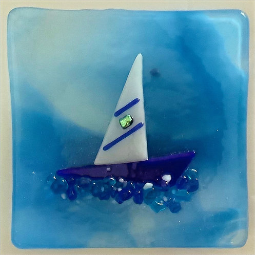 Sail Boat Dish