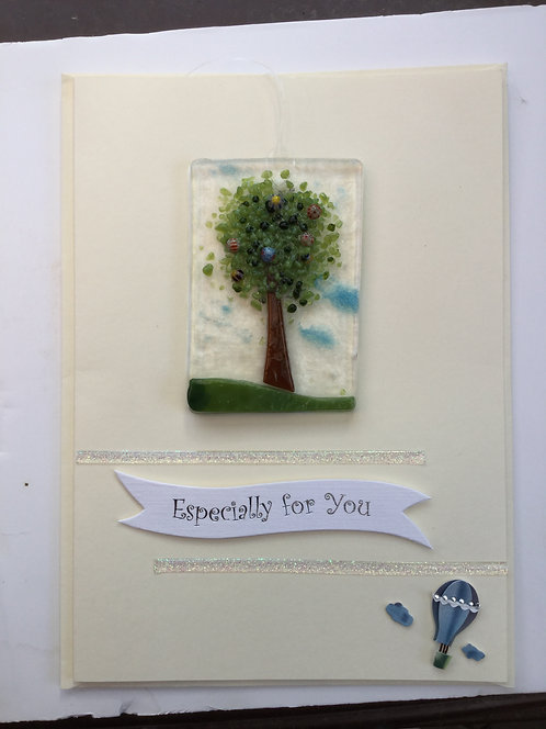 Glass Tree Card