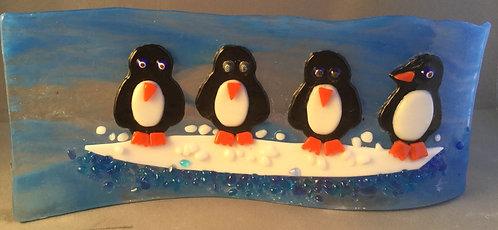 Freestanding Penguin Wave