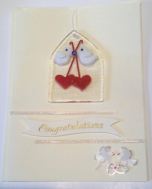Glass Dove Card
