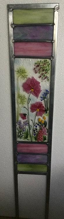 Confetti Flowers Garden Panel
