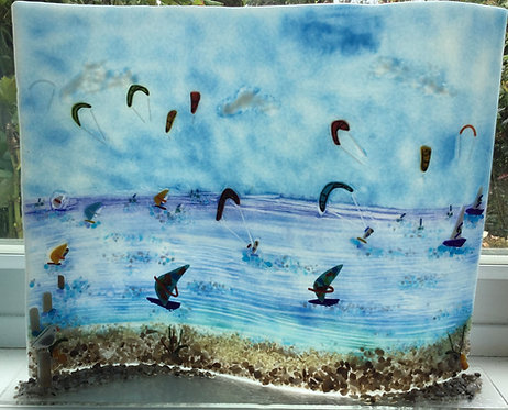 Freestanding Kite Surfing Wave