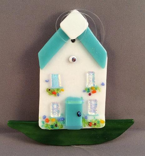 Fused Glass House Hanger