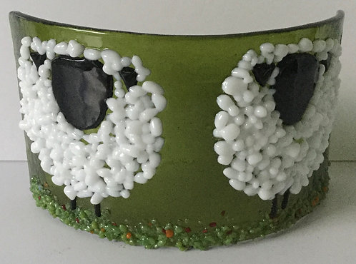 Freestanding Curve  Woolly Sheep