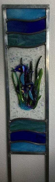 Seahorse Garden Panel