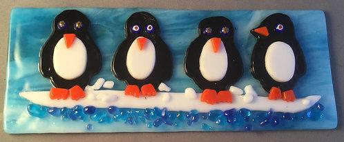 Penguins on the Snow Hanger