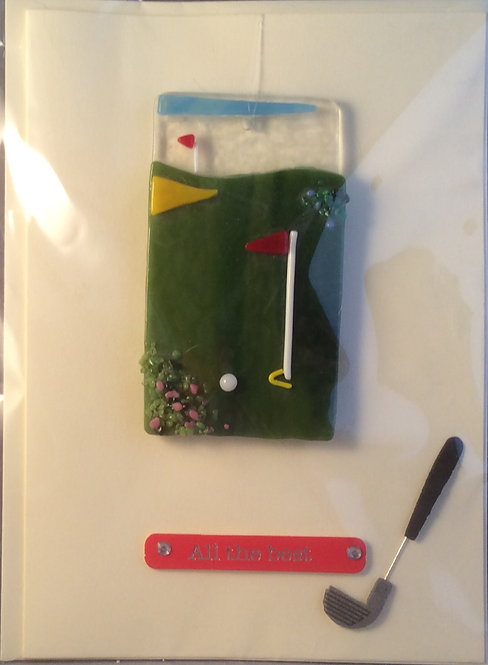 Glass Golf & Cricket Cards