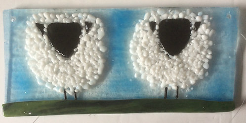 Glass Fluffy Sheep Hanger