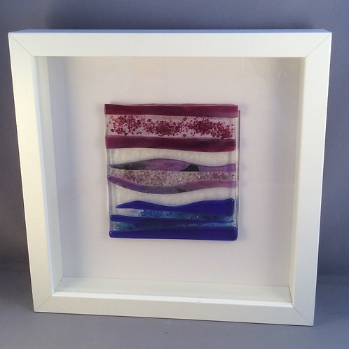 Fused Glass Waves Picture