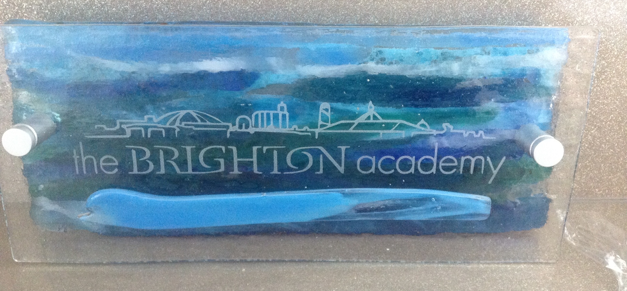 The Brighton Academy Wall Plaque