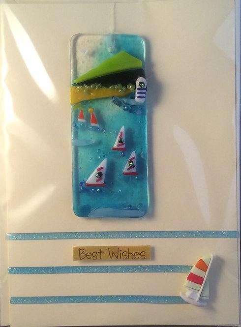 Glass Sea Scene Card