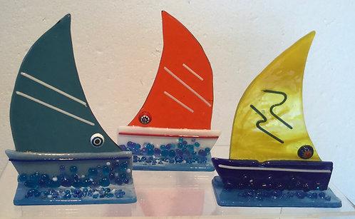 Freestanding Small Sailing Boat