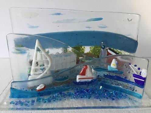 Freestanding 3D  Portsmouth Spinnaker Tower  Wave