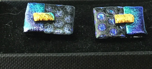Dichroic Bar Cufflinks