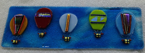 Fused Glass Hot Air Balloon Hanger