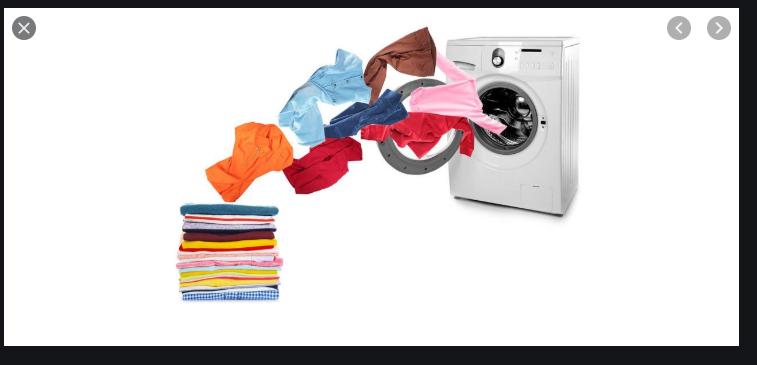 Wash, dry, fold laundry