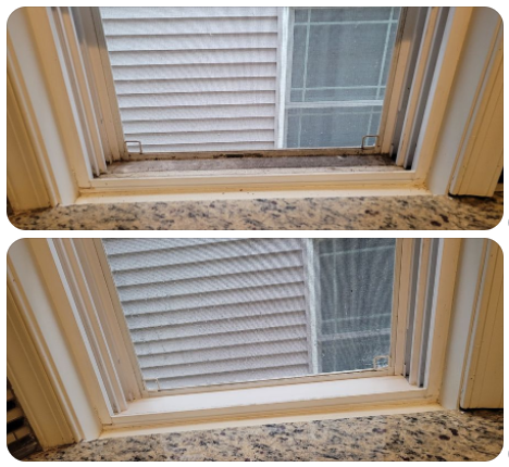 Window Sills Cleaning