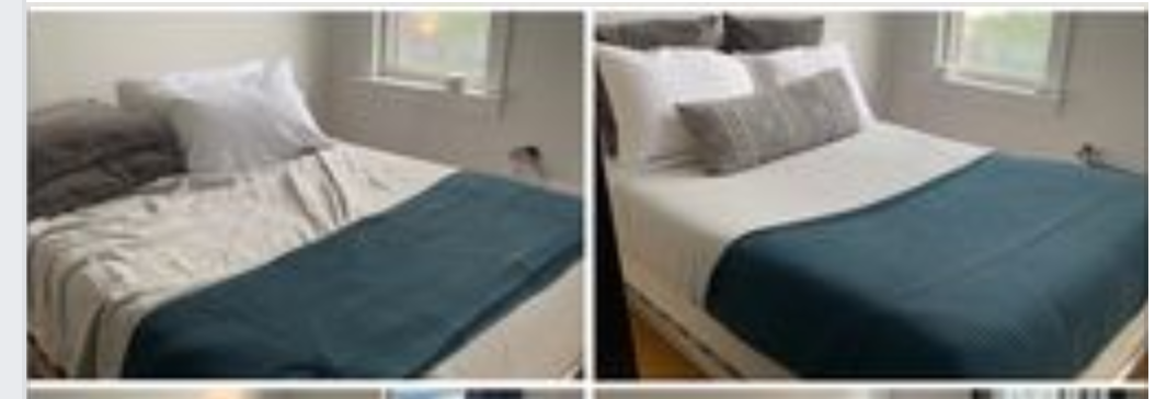 Changing Bed sheets & Pillow cases
